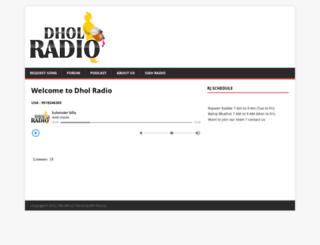 dholradio.co screenshot