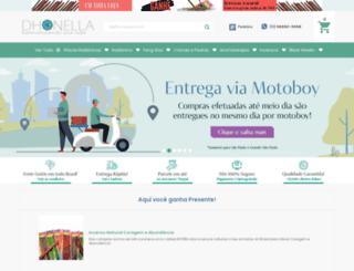 dhonella.com.br screenshot