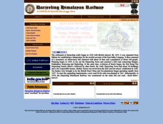 dhr.indianrailways.gov.in screenshot