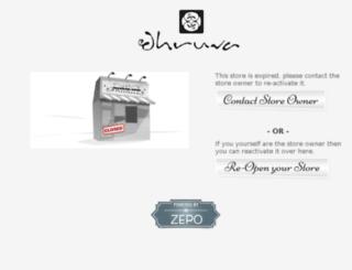 dhruvahandbags.com screenshot