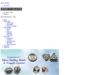 dhruvsilver.com screenshot