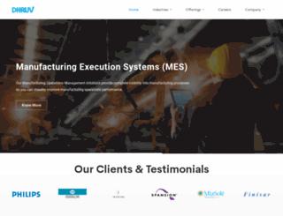 dhruvts.com screenshot