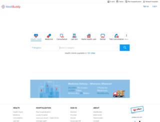 dhs-india.com screenshot