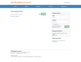 dhsmanagementgroupinc.managebuilding.com screenshot