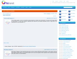dhtml-tutorial-pdf.freeware.filetransit.com screenshot
