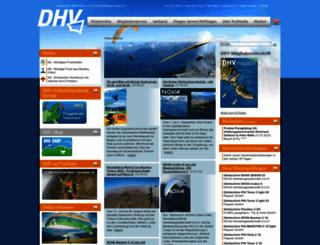 dhv.de screenshot