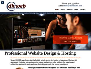 dhwebsites.com screenshot