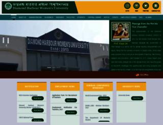 dhwu.ac.in screenshot
