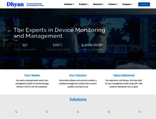 dhyaninfotech.com screenshot