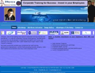 dhyeya.biz screenshot
