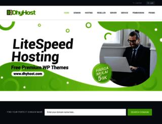 dhyhost.com screenshot