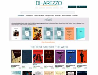 di-arezzo.co.uk screenshot