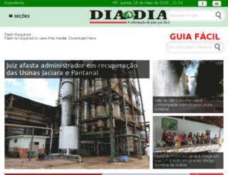 diaadianews.com.br screenshot