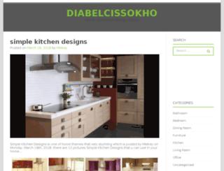 diabelcissokho.com screenshot