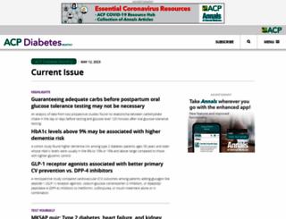 diabetes.acponline.org screenshot