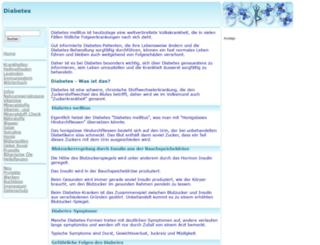 diabetes.gesund.org screenshot