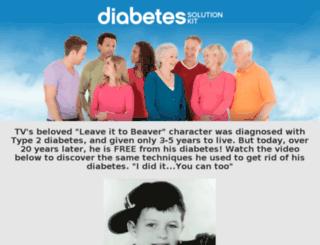 diabetes44.com screenshot