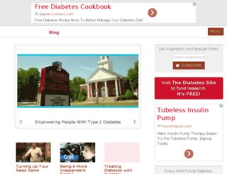 diabetesawarenesssite.com screenshot