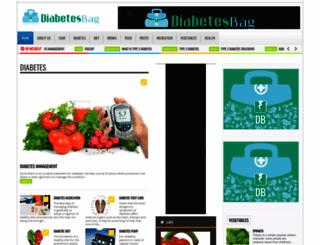 diabetesbag.com screenshot