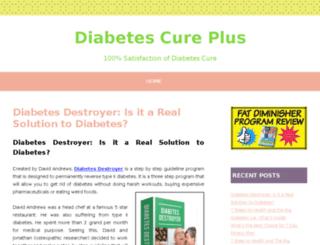 diabetescureplus.com screenshot