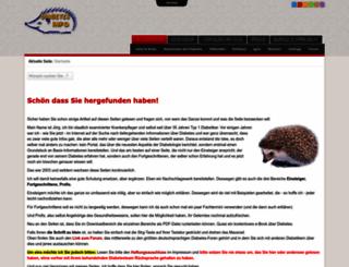 diabetesinfo.de screenshot