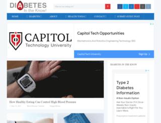 diabetesknow.com screenshot