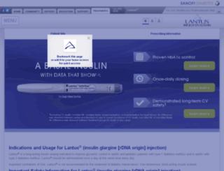 diabetesnationalalliance.com screenshot