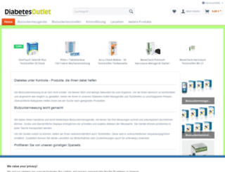 diabetesshop-fulda.de screenshot