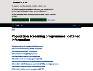 diabeticeye.screening.nhs.uk screenshot