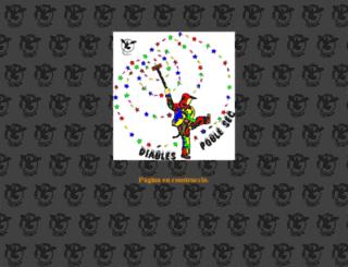 diablesdelpoblesec.org screenshot