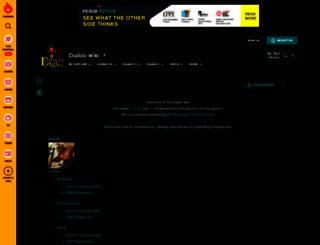 diablowiki.com screenshot