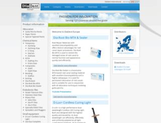 diadenteurope.com screenshot