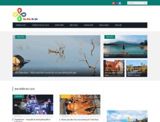 diadiemdulich.com screenshot