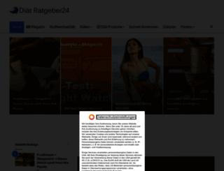 diaet-ratgeber24.de screenshot