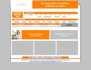 diagnostic.fr screenshot