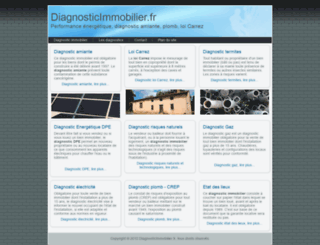 diagnosticimmobilier.fr screenshot
