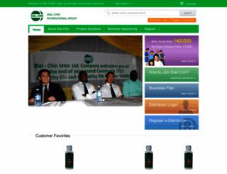 dial-chin.com screenshot