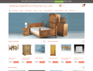 dial4furniture.co.uk screenshot