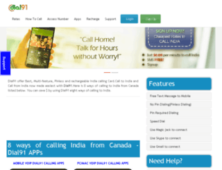 dial91.ca screenshot
