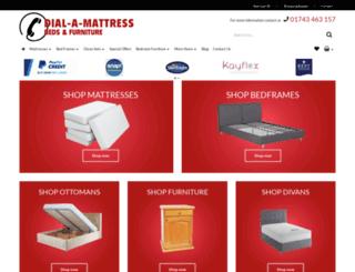 dialamattress.co.uk screenshot