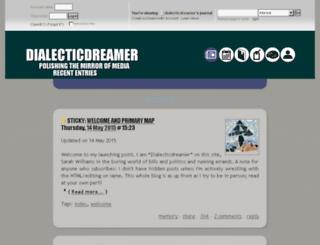 dialecticdreamer.dreamwidth.org screenshot