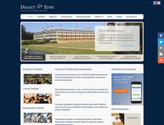 dialectzone.org screenshot