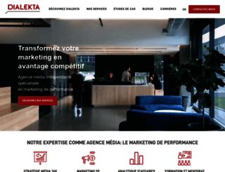 dialekta.com screenshot