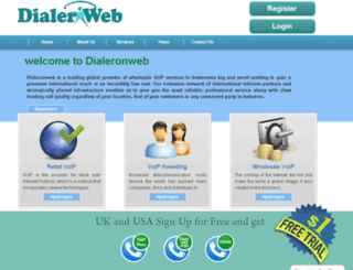 dialeronweb.com screenshot