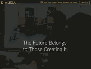 dialexa.com screenshot