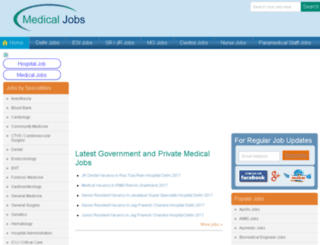 dialmedicaljobs.com screenshot