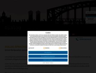 dialog-sprachschule.de screenshot