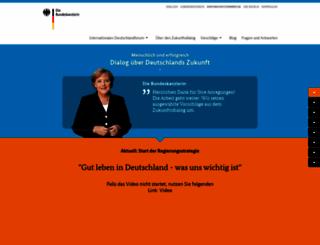 dialog-ueber-deutschland.de screenshot