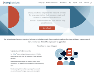 dialog.com screenshot