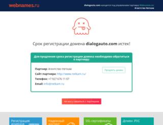dialogauto.com screenshot